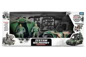 Zestaw wojskowy z pojazdem TOYS FOR BOYS 157264