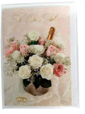 PROMO Karnet złoty W dniu Ślubu p5 Verte cena za 1szt