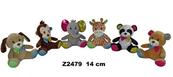 Zwierzęta 6 wzorów 14 cm Cena za 1szt