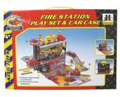 Garaż Straż pożarna z pojazdami 114088