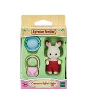 SYLVANIAN Dziecko królików z czekoladowymi uszkami 05405