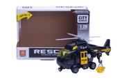 Helikopter światło i dźwięk czarny w pudełku 1003787