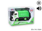 Auto śmieciarka z światłem i dźwiękiem G122572