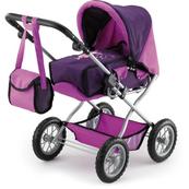 Bayer Wózek dla lalki Combi Grande różowo fioletowy 15012AA