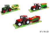 Traktor z maszyną rolniczą GAZELO cena za 1 szt