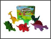 Dinozaury bajkowe 27cm 6 wzorów cena za 1 szt