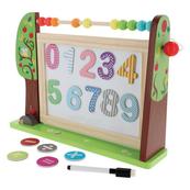 Tablica bystrzaka przedszkolaka. Zabawka drewniana 61401 TREFL