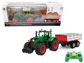 Traktor z przyczepą na radio (ładowarka) 111414