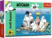 Puzzle 60el Muminki nad jeziorem 17352 trefl