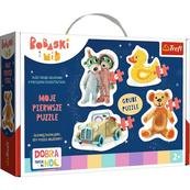 Puzzle Baby Classic - Urocze Bobaski - Dobranoc, Trefliki na dobranoc 36095 Trefl