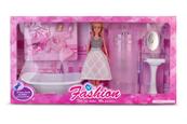 Lalka z łazienką 29cm 123009