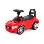 """Polesie 84460 Samochód-jeździk """"SuperCar"""" Nr1 z sygnałem dźwiękowym (czerwony)"""