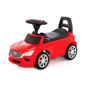 """Polesie 84507 Samochód-jeździk """"SuperCar"""" Nr4 z sygnałem dźwiękowym (czerwony)"""