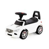 """Polesie 84514 Samochód-jeździk """"SuperCar"""" Nr4 z sygnałem dźwiękowym (biały)"""