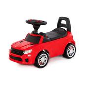"""Polesie 84590 Samochód-jeździk """"SuperCar"""" Nr6 z sygnałem dźwiękowym (czerwony)"""