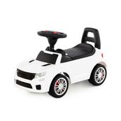 """Polesie 84606 Samochód-jeździk """"SuperCar"""" Nr6 z sygnałem dźwiękowym (biały)"""