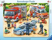 Puzzle ramkowe 30el Ekscytujące prace 061440 RAVENSBURGER