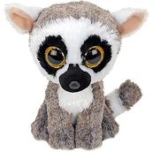 TY BEANIE BOOS Linus lemur 15cm 36224
