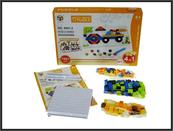 Układanka puzzle Pojazdy 4w1 198 części 6991-2