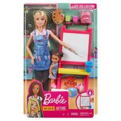 Barbie Lalka I can be Kariera GJM29 DHB63 Szkoła malowania MATTEL