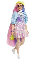 Barbie Lalka EXTRA MODA + akcesoria 2 GVR05 GRN27 MATTEL