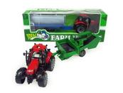 Traktor z przyczepą 34cm w pudełku 4466 HIPO cena za 1 szt