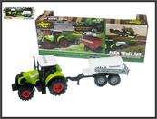 Traktor z przyczepą 32cm światło, dźwięk napęd na koła zamachowe 550-4E HIPO