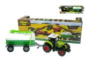 Traktor z przyczepą 37cm światło, dźwięk napęd na koła zamachowe 550-7E HIPO