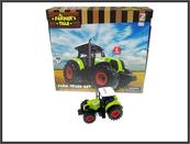 Traktor 15cm światło, dźwięk napęd na koła zamachowe 550-23E HIPO