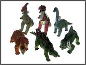 Dinozaur 40cm z dźwiękiem 6 wzorów 2899/IC HIPO cena za 1 szt