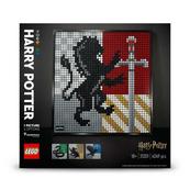 LEGO 31201 ART HARRY POTTER Herby Hogwartu p3