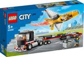 LEGO 60289 CITY Transporter odrzutowca pokazowego p4