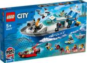 LEGO 60277 CITY Policyjna łódź patrolowa p3