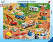 Puzzle 12el ramkowe Co tu pasuje - Plac budowy 060580 RAVENSBURGER