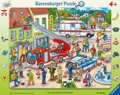 Puzzle 24el Na ratunek zwierzakom 065813 RAVENSBURGER