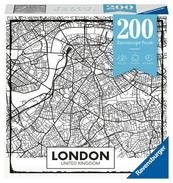 Puzzle 200el Moment: Londyn mapa 129638 RAVENSBURGER