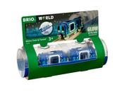 BRIO 33970 Zestaw świecący w ciemności Metro z tunelem