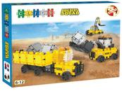 Klocki CLICS BOX Duży Maszyny budowlane BC009