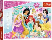 Puzzle 200el Radosny świat księżniczek. Disney Princess 13268 Trefl