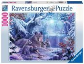 Puzzle 1000el Wilki zimą 197040 RAVENSBURGER
