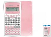 Kalkulator naukowy Antibacterial różowy 159110IBGPBL MILAN