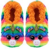 TY Fashion pantofle GEMMA - jednorożec rozmiar M (32-34cm)