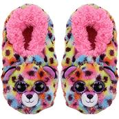 TY Fashion pantofle GISELLE - lampart rozmiar M (32-34cm)