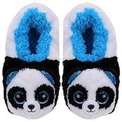 TY Fashion pantofle BAMBOO - panda rozmiar L (36-38cm)