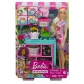 Barbie Kwiaciarnia zestaw + lalka GTN58 MATTEL