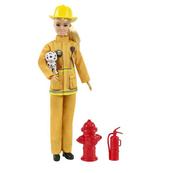 Barbie Lalka Kariera deluxe Strażaczka GTN83 GYJ98 MATTEL