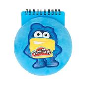Notes na spirali pluszowy okrągły Play-Doh STARPAK