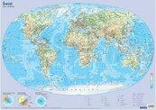 Plansza edukacyjna - Mapa świata 1:60 000 000