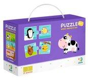 Puzzle 12x2 Co jedzą zwierzęta?