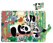 Puzzle ramkowe 21 Pandy